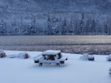 <h5>Winter Picnic!</h5><p>Bundle up, its a little cold outside, but oh so toasty inside by the fire!																																																																				</p>